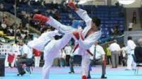 نائب قهرمان انتخابی تیم ملی کاراته امیدهای کشور