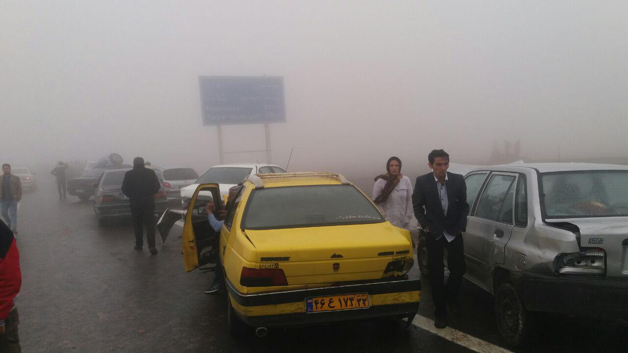 ممنوعیت تردد به صورت مقطعی در آزادراه مشهد-باغچه به دلیل مه غلیظ