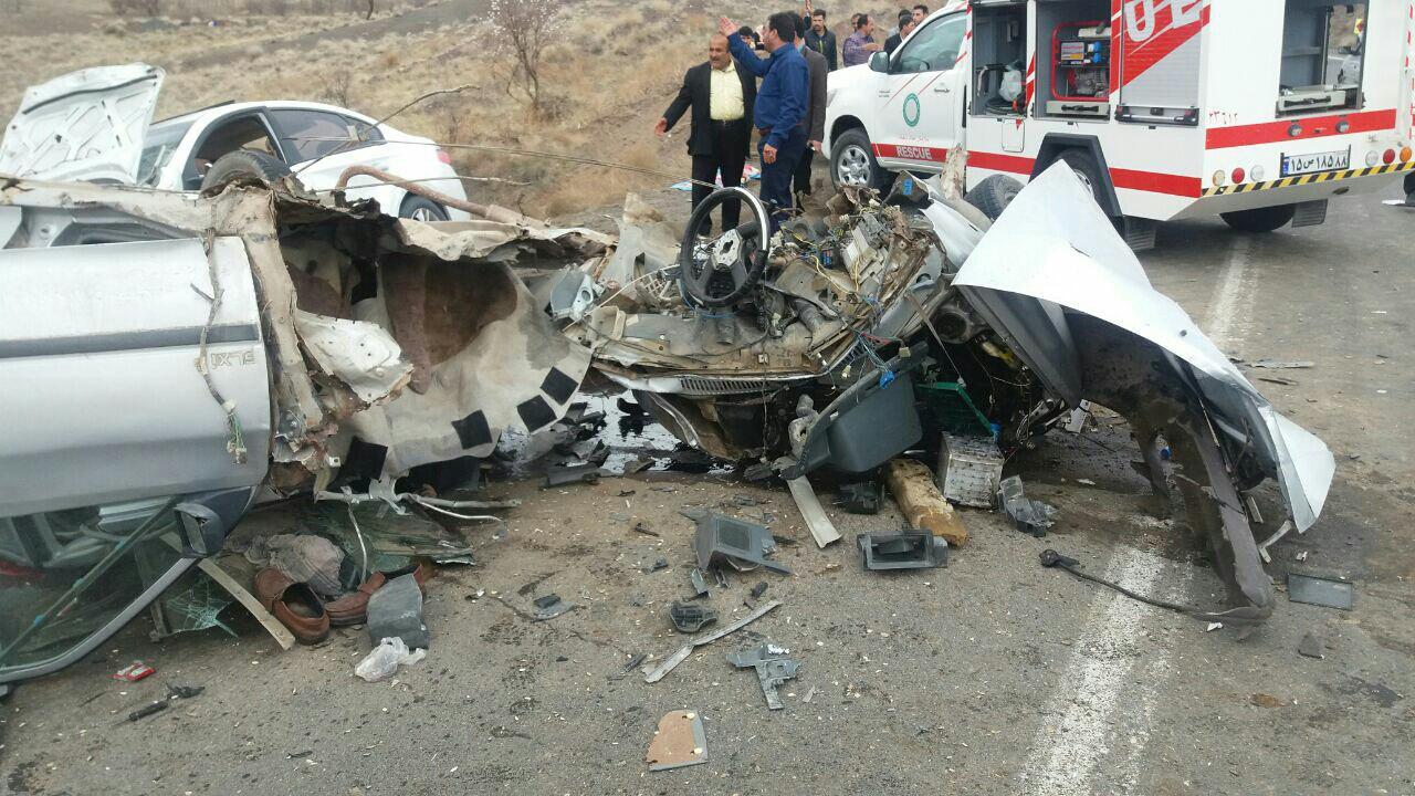 2کشته و 3مجروح در حادثه رانندگی سبزوار-جوین