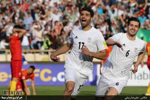 رقابت تیم های ملی فوتبال ایران - چین