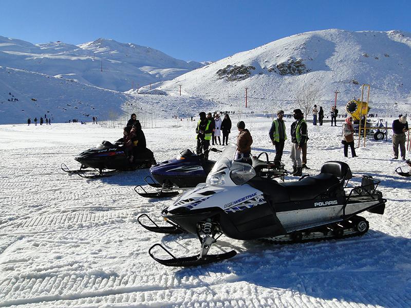خواب زمستانی در پیست های اسکی سپیدان  + فیلم و عکس