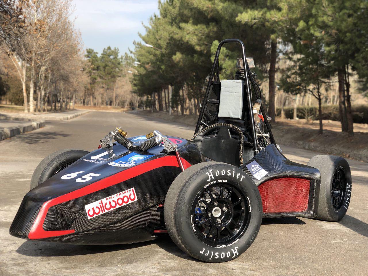 ساخت خودروی فرمول یک در دانشگاه فردوسی مشهد