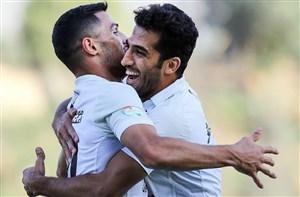 هفته نوزدهم لیگ برتر فوتبال کشور پیروزی یک بر صفر پرسپولیس مقابل مشکیپوشان