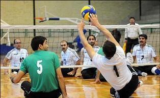 قهرمانی تیم والیبال نشسته جامعه معلولان مازندران