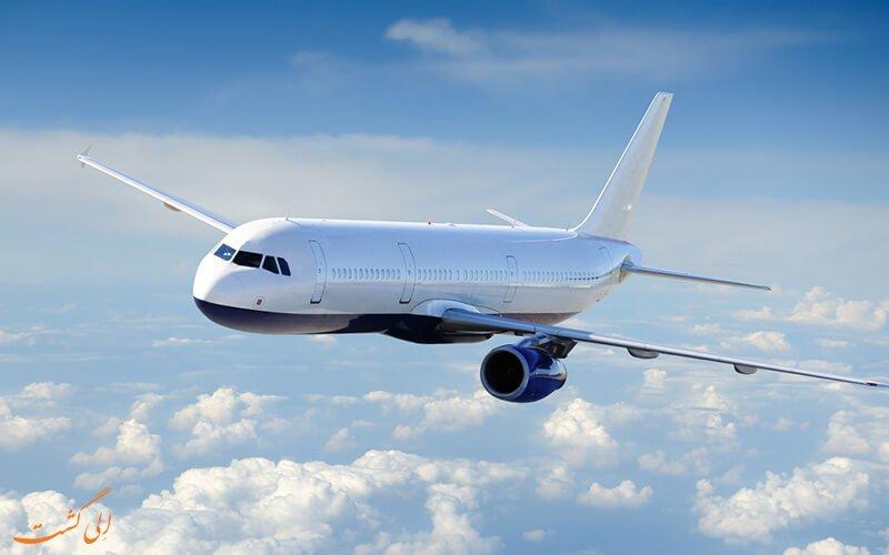 پروازهای فرودگاه شهید دستغیب شیراز یکشنبه 24 دیماه