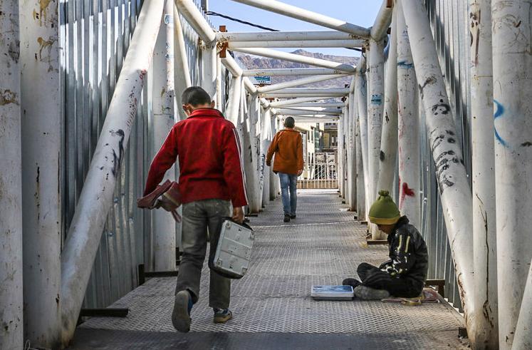 75 درصد کودکان خیابانی مشهد، دارای خانواده هستند