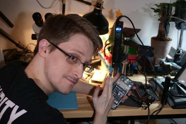 اسنودن اپلیکیشن محافظت از لپ تاپ ساخت