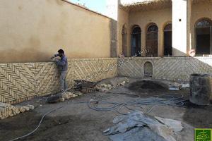 پایان مرمت خانه ای تاریخی از از دوره قاجار