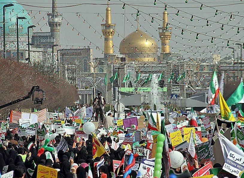 دعوت تبلیغات اسلامی خراسان رضوی برای حضور در راهپیمایی 22بهمن