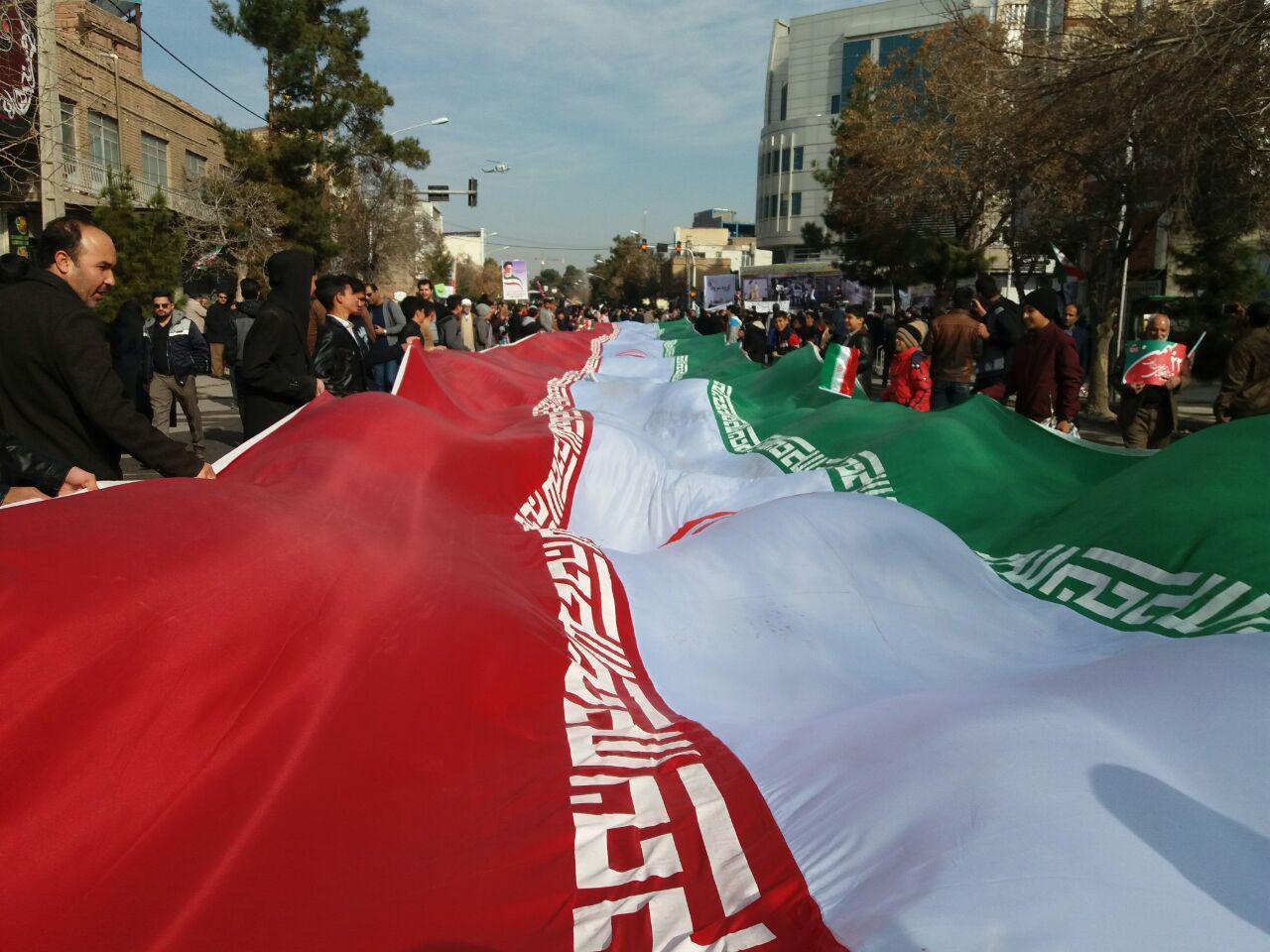 آغاز مراسم راه پیمایی یومالله 22 بهمن در کرمان