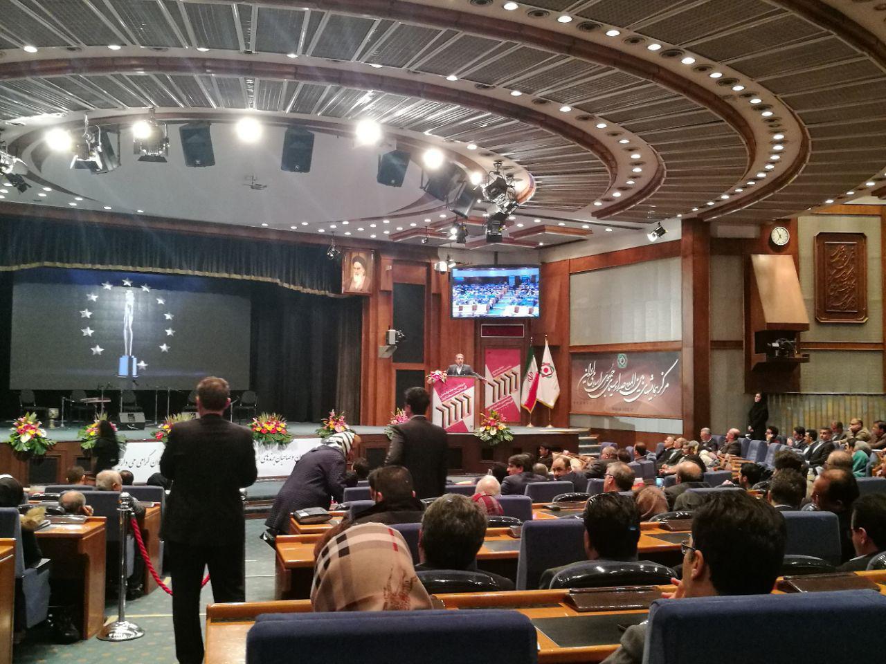 سیزدهمین جشنواره ملی قهرمانان صنعت ایران آغاز به کار کرد