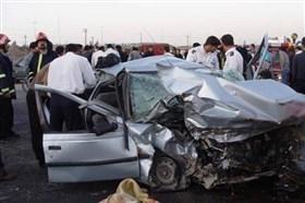 واژگونی پژو محور تربتحیدریه به مشهد یک کشته، یک زخمی
