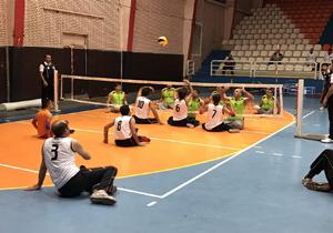 آغاز مسابقات والیبال نشسته جانبازان و معلولان کشور