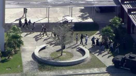 دهها کشته و زخمي در تيراندازي مدرسه پارکلند ايالت فلوريدا