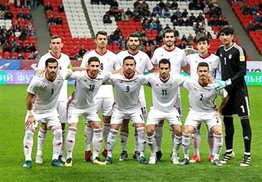 ایران با یک پله صعود تیم 33 جهان شد