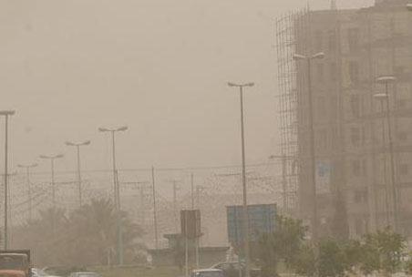 غبار محلی در مشهد و شهرهای صنعتی استان