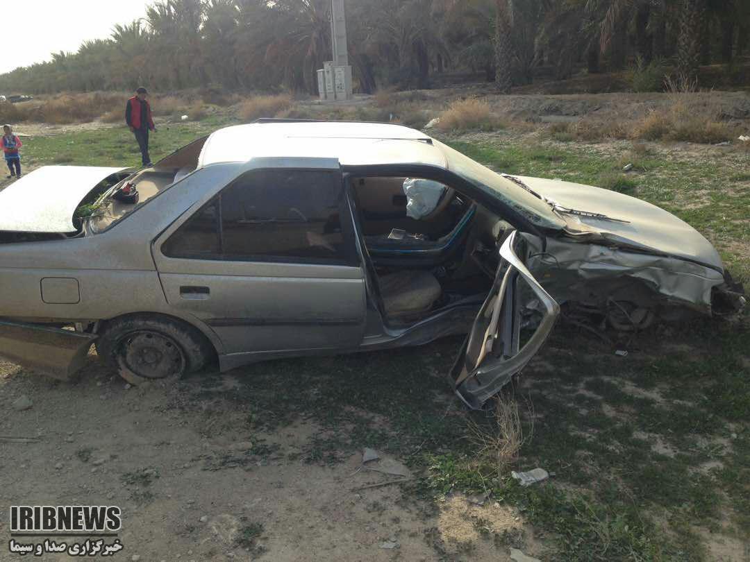 حادثه رانندگی با 4 کشته و مجروح در نزدیکی شهر اهرم