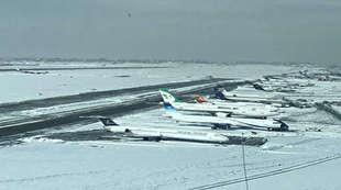 مهراباد برف