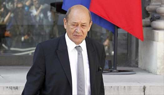 ورود وزير امور خارجه فرانسه به تهران