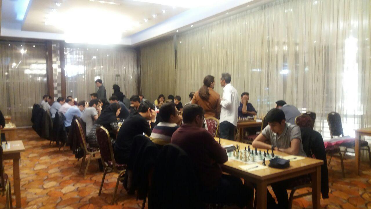 پایان مسابقات بین المللی شطرنج