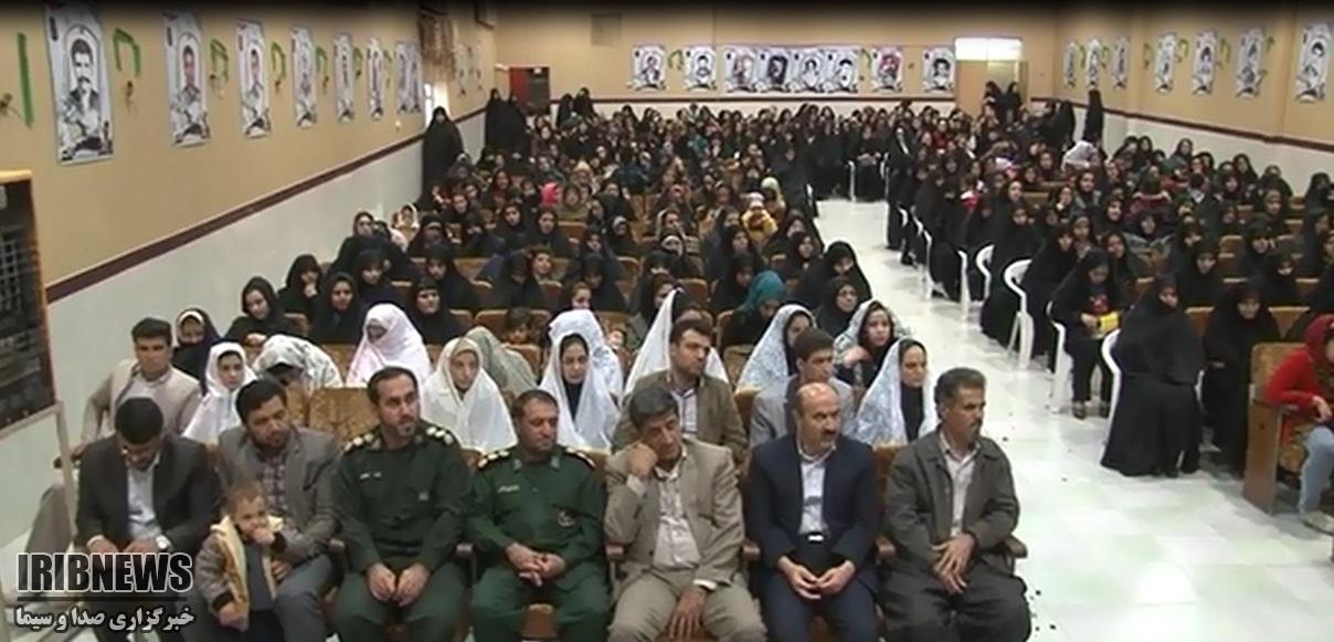 جشن میلاد کوثر در کامیاران