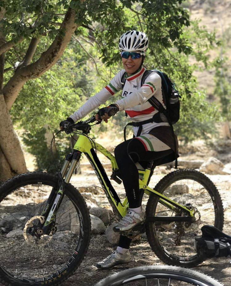 قهرمانی دوچرخهسوار فارس در لیگ کراسکانتری بانوان کشور