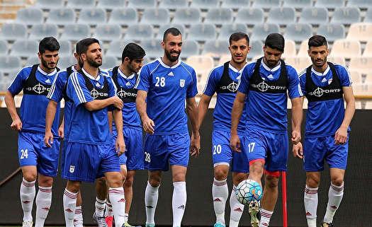 ترکیب ایران مقابل سیرالئون