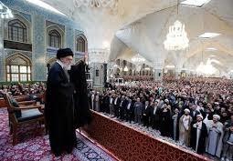 دیدار نوروزی زائران و مجاوران حضرت رضا(ع) با رهبر معظم انقلاب