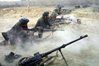 درگیری شدید نیروهای امنیتی افغانستان با طالبان