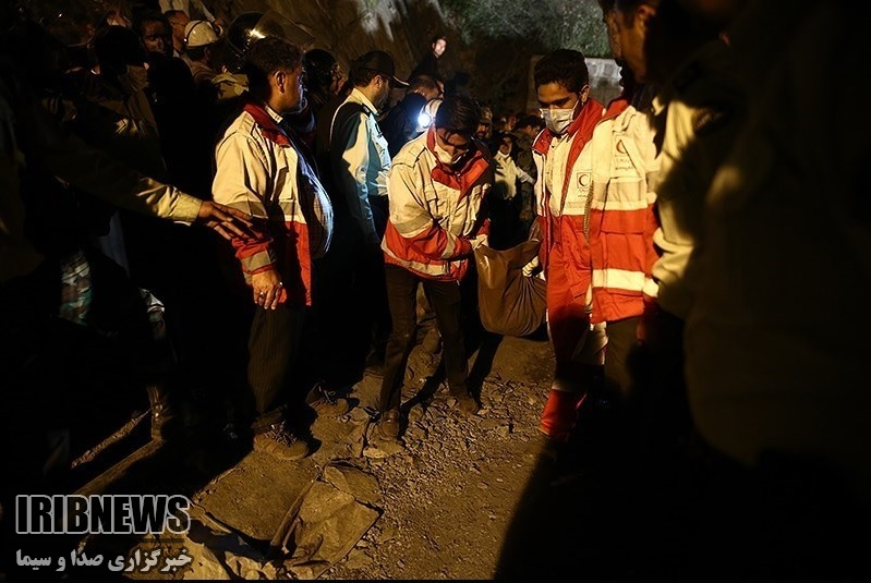 تعداد جان باختگان حادثه معدن آزادشهر به 26 نفر رسید