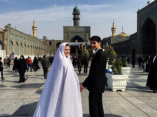 پایان بیستمین دوره ی ازدواج دانشجویی کشور در حرم مطهر رضوی