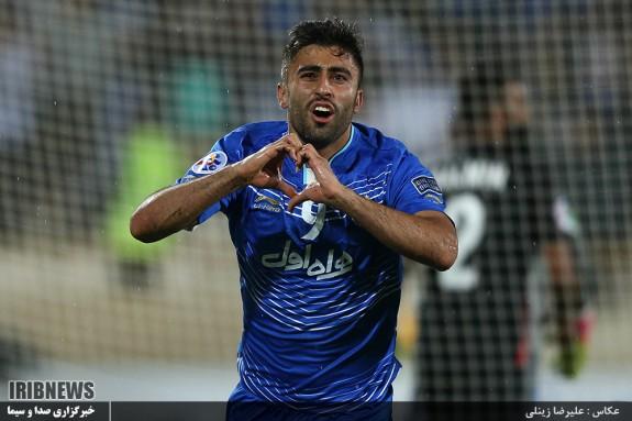 رقابت فوتبال تیم های استقلال - الاهلی امارات