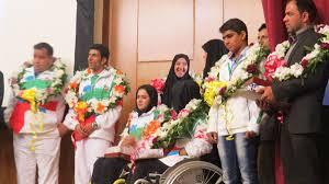 درخشش ورزشکاران معلول کرمانی