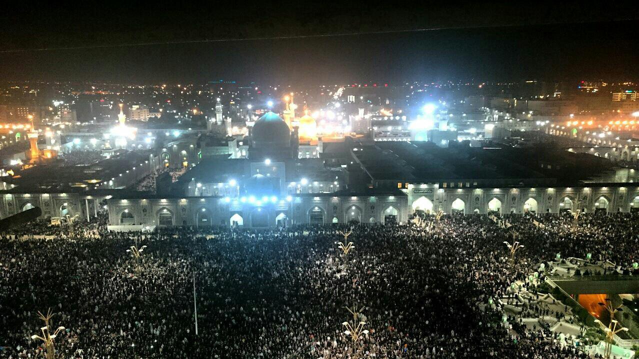 برگزاری مراسم شب قدر در حرم مطهر رضوی