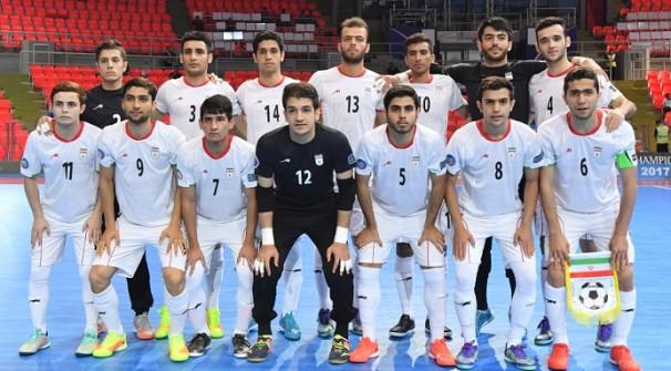 فوتسال ایران با فینالیست شدن المپیکی شد
