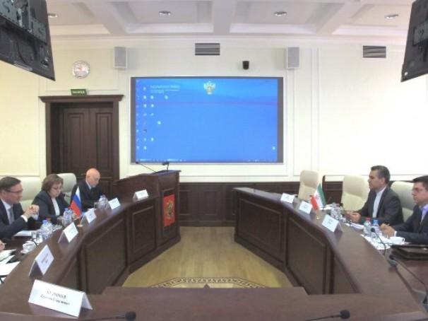 دیدار رؤسای نظام ایمنی هسته ای ایران و روسیه