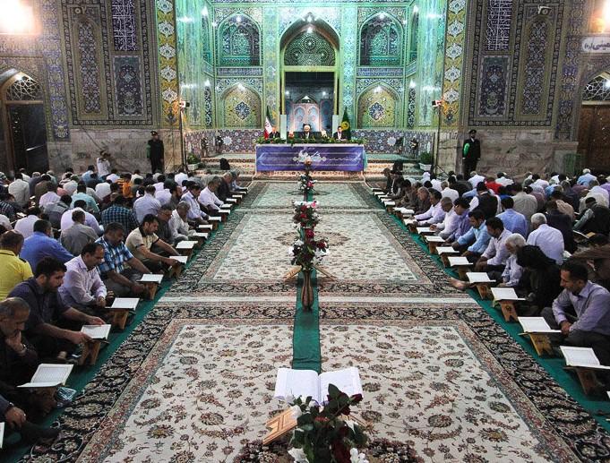 پخش محافل قرآنی حرم مطهر رضوی از شبکههای رسانه ملی