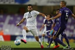 رقابت فوتبال تیم های العین امارات - استقلال ایران