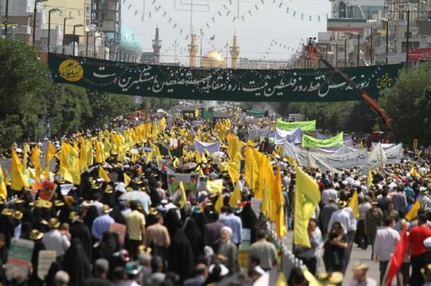 راهپیمایی بزرگ روز جهانی قدس در مشهد مقدّس