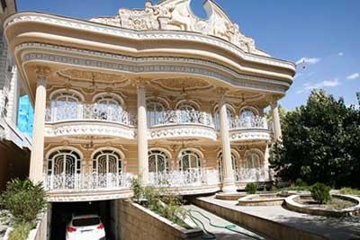 لوکسترین خانه های تهران + تصاویر