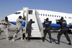 رزمایش دفاعی _امنیتی در فرودگاه مهرآباد با موفقیت انجام شد