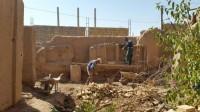 مرمت و بازسازی خانه تاریخی حسینی در شهرستان میبد
