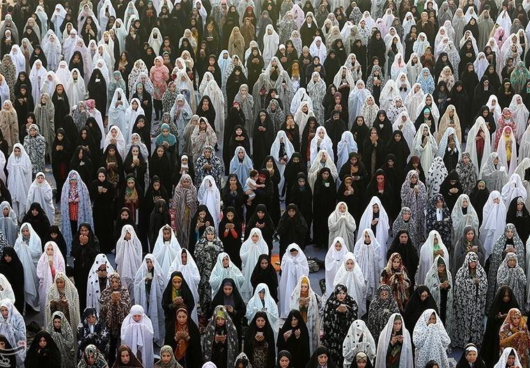 اقامه نماز عید فطر در 47 بقعه متبرکه استان خراسان رضوی