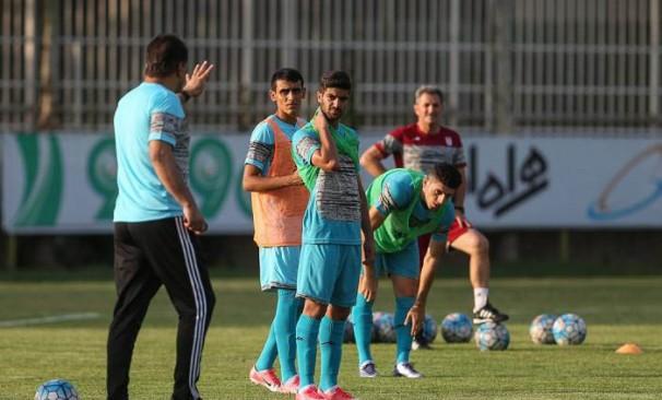 تمرین تیم فوتبال امید برگزار شد+ گزارش