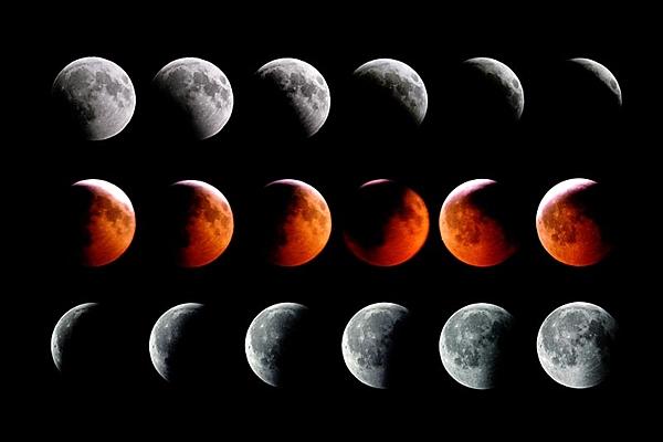 ماه گرفتگی دوشنبه شب فرصتی برای مطالعه جو و کرویت زمین