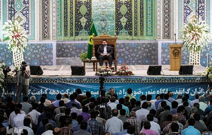 برگزاری بزرگترین محفل قرآنی در صحن جامع رضوی