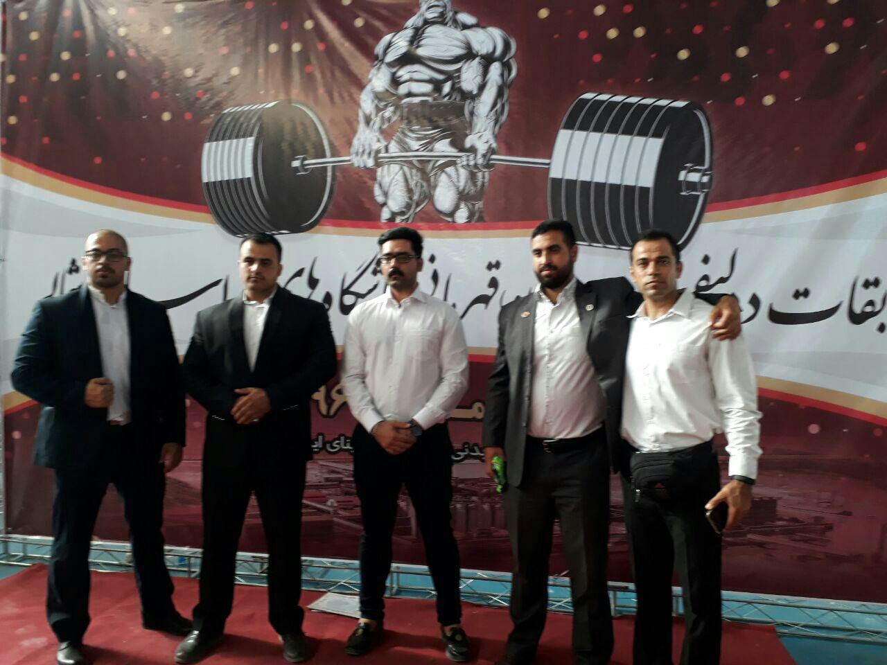 پایان مسابقات ددلیفت قهرمانی باشگاه های خراسان شمالی در جاجرم