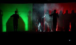 اجرای نمایش آیینی «سلسلهالذهب» در جوار حرم مطهر رضوی