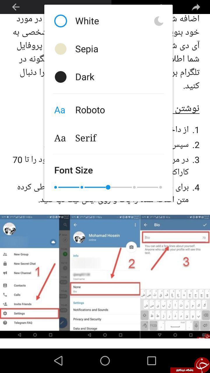 قابلیت جدید تلگرام برای نزدیک به 2274 سایت ایرانی و خارجی +تصاویر