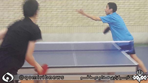 4 نماینده از قم در اردوی تیم ملی پینگ پنگ دختران و پسران